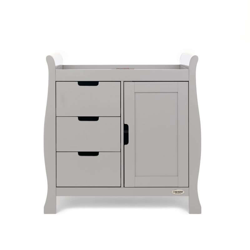 Obaby Stamford Changing Unit - Warm Grey
