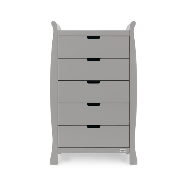 Obaby Stamford Tall Chest of Drawers - Warm Grey