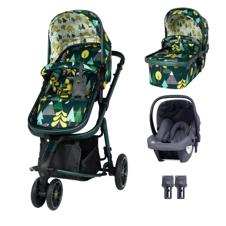 Cosatto Giggle 3 Travel System & Hold Group 0+ Car Seat Bundle - Into The Wild