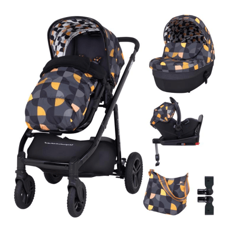 Cosatto Wow Continental Everything Travel System Bundle (Incl. i-Size 0+ Car Seat & Base) - Debut