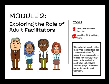 Module 2: Exploring the Role of Adult Facilitators