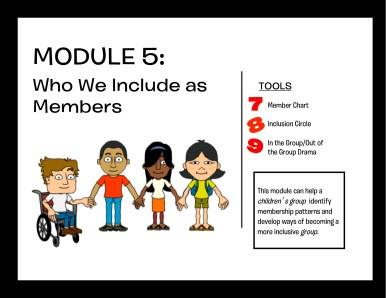 Module 5: Who We Include as Members