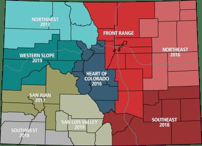 2016 RPD regional map
