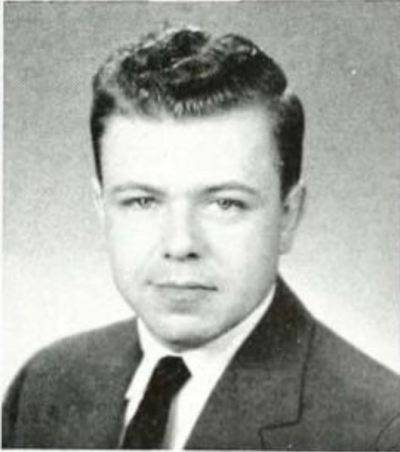 Pictured is Lars Spinner as a student at Indiana Institute of Technology in 1959.
