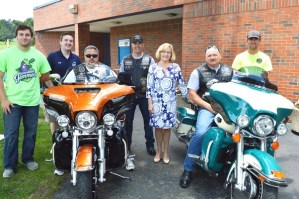 """CRCF to Host """"Red, Bike and Blue Night"""""""