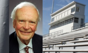 Picture of Bob Brooks and the Kingston Stadium