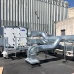 Installation gaine de ventilation et CTA Double flux