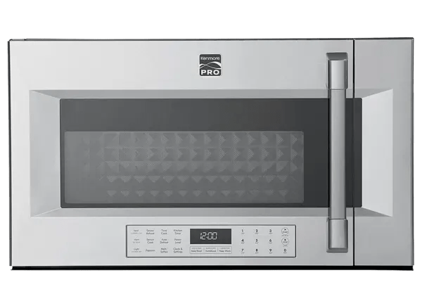 kenmore pro 89393 microwave oven
