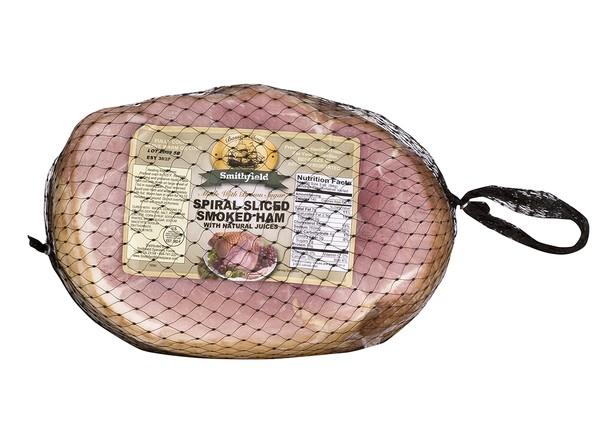 Smithfield Brown Sugar Cured and Spiral Sliced Spiral Ham