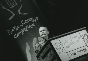 Will Vinton at the 2000 Portland Creative Conference