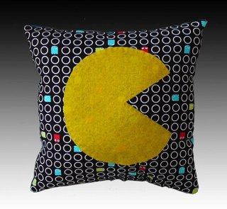 Pac Man Pillow