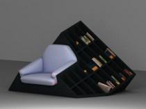 Tatik Bookcase Chair