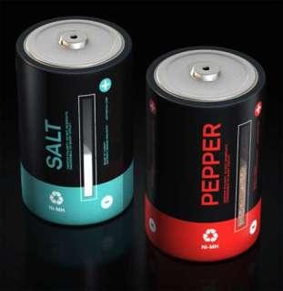 Battery Salt and Pepper Shaker