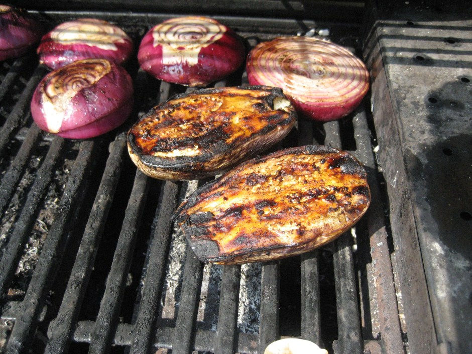 Eggplant and Onions