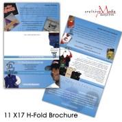 Portrait Style Large Format Tri-Fold
