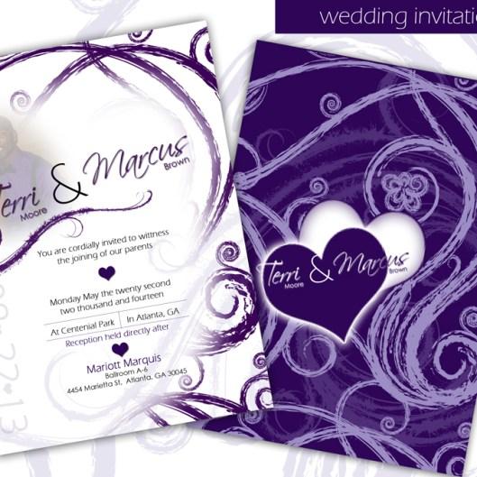 Custom Designed Invitation