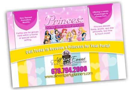 Princess Party Flyer