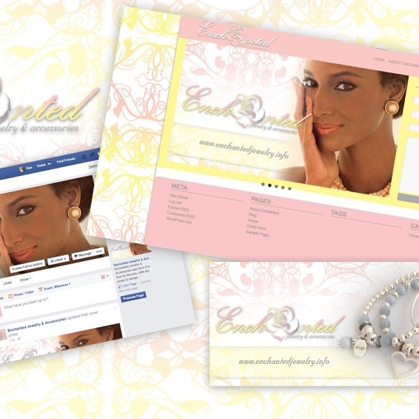 Custom Logo, Webswite Design and Facebook Business Fan Page