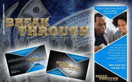 Breakthrough Money School Logo Design