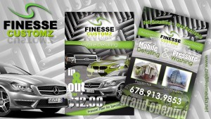Finesse Customz Project Layout