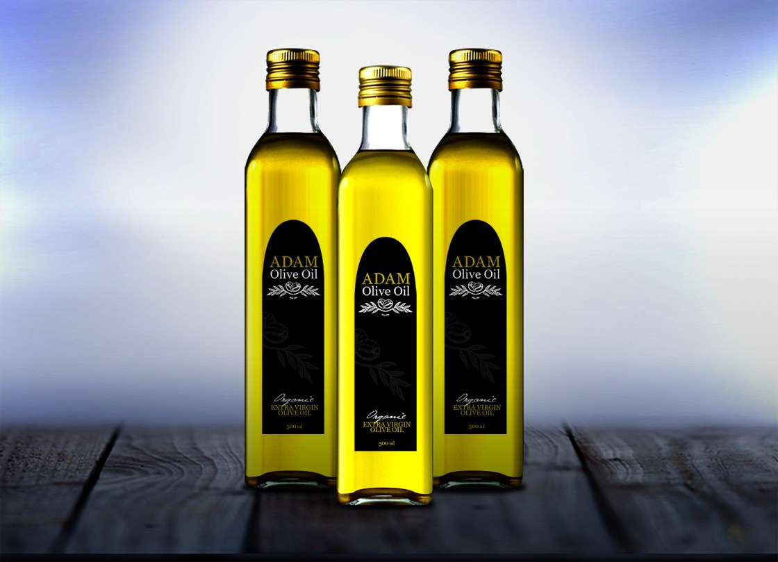Adam Oil Label Option 1