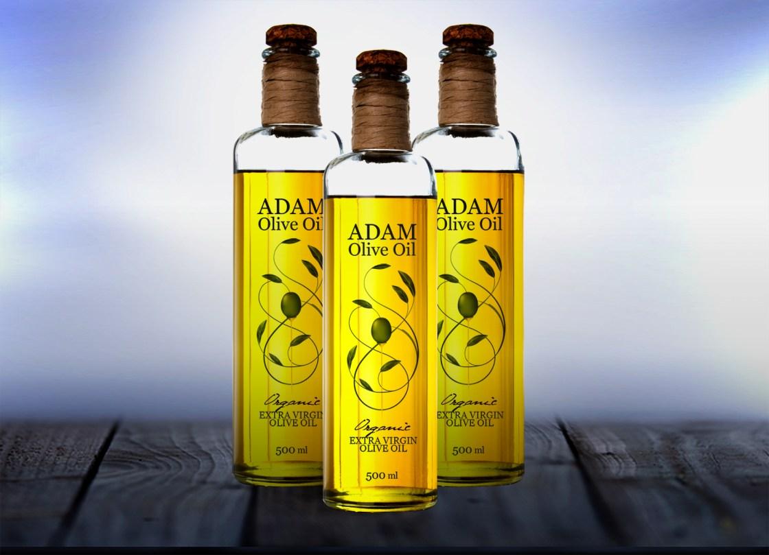 Adam Oil Label Option 2