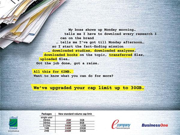Etisalat BusinessOne Ad 02