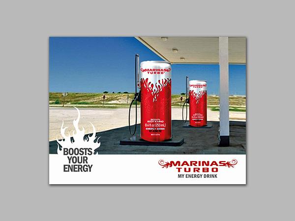 Marinas Turbo Print Ad