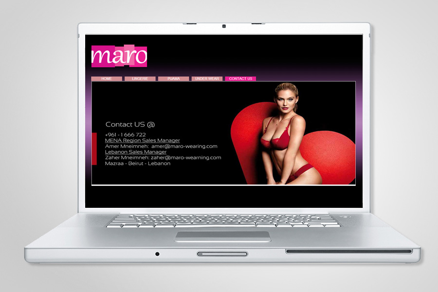 Maro Website