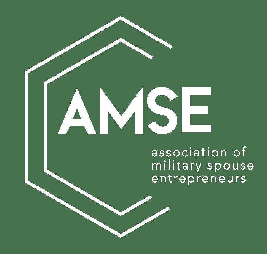 AMSE Logo White - About