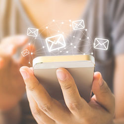 Cre8ve email newsletters - Services