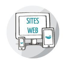 icone sites web Créa-Plume design graphique, conception de supports de communication crea-plume.com