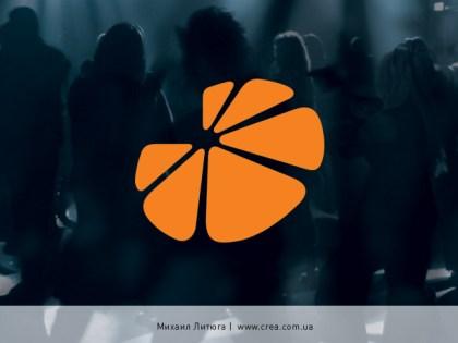 «Apelsin» radiostation logo design