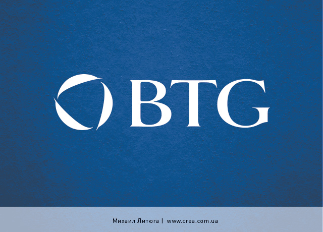 разработка логотипа тренинговой компании BTG | training company logo design