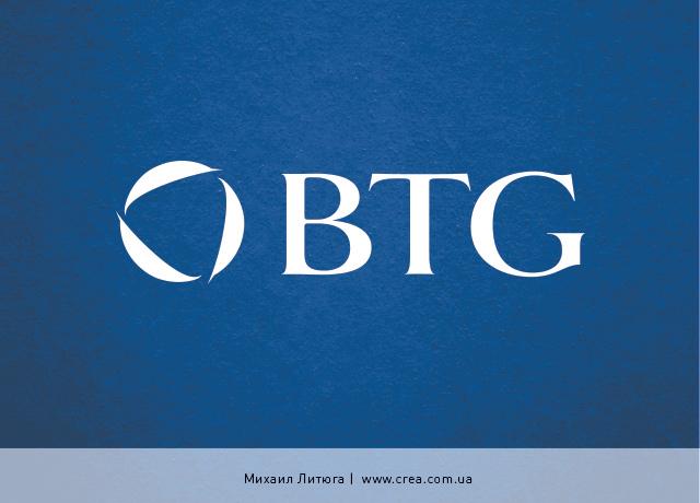 разработка логотипа тренинговой компании BTG | training company logo design