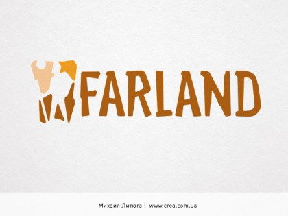 «Farland» travel agency logo design