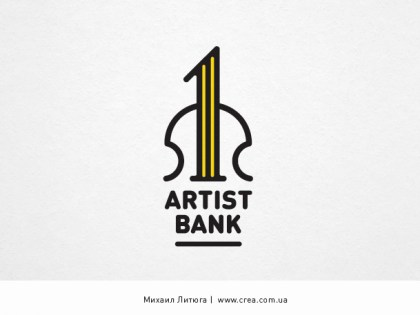 «First Artist Bank» logo design