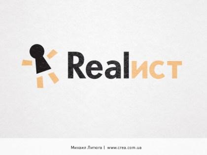 «Realist» logo design