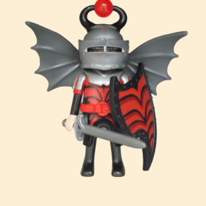 chevalier ailes grises