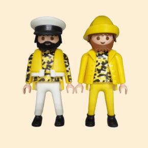 pêcheurs jaunes