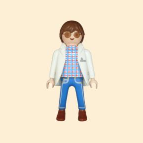 médecin lunettes