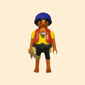 pirate veste rouge