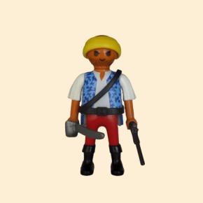 pirate pantalon rouge