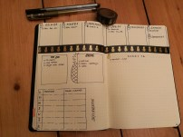 Dutch door Bullet journal