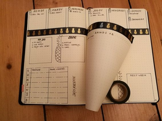 Dutchdoor - bullet journal