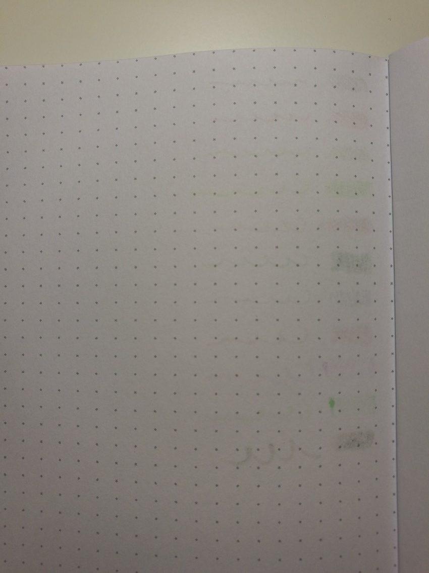Pen test - Dot Grid - Bujo