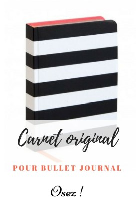 Carnet original - bullet journal - bujo