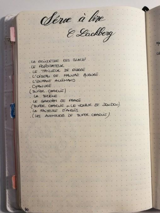 Tracker série - Bullet journal