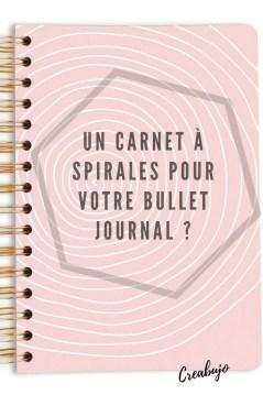 Carnet - spirale - bujo