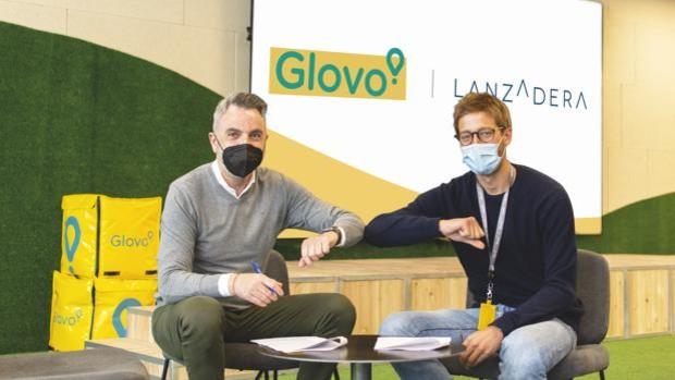 Lanzadera y Glovo firman un acuerdo para impulsar el sector food tech.